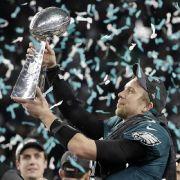 Underdog Philadelphia Eagles gewinnen sensationell gegen New England Patriots (Foto)