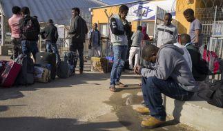 Israel will Zehntausende Flüchtlinge ausweisen. (Foto)
