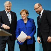 Koalitionsvertrag soll bereits am Dienstag vorgestellt werden (Foto)