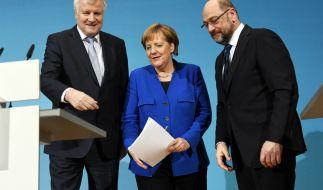 Befinden sich die GroKo-Verhandlungen auf der Zielgeraden? (Foto)
