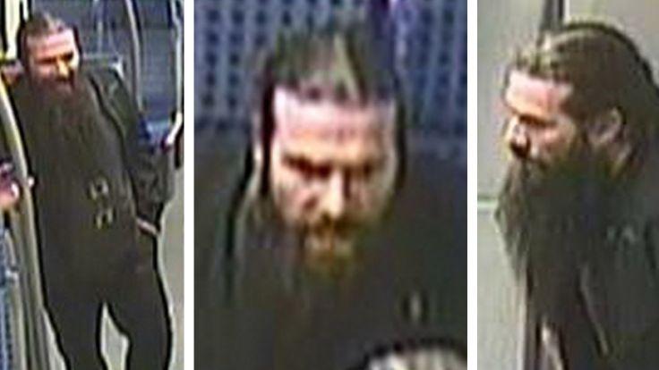 Würgeangriff in S-Bahn Polizei sucht diesen Mann