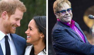 Heiraten Prinz Harry und Meghan Markle mit musikalischer Begleitung von Elton John? (Foto)