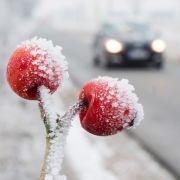 Vorsicht, Glatteis! Frost und Schnee machen die Straßen unsicher (Foto)
