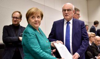 Nach 13 Tagen Verhandlungen stand der 177-seitige Koalitionsvertrag. (Foto)