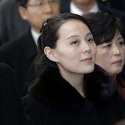 Südkorea-Delegation! So viel Macht hat seine Schwester (Foto)