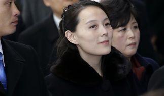Die Schwester von Kim Jong Un: Kim Jo Yong. (Foto)