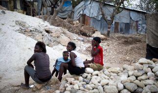 Die Bevölkerung von Haiti ist auf fremde Hilfe angewiesen. (Foto)