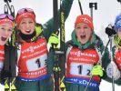 Das sind die deutschen Biathlon-Damen