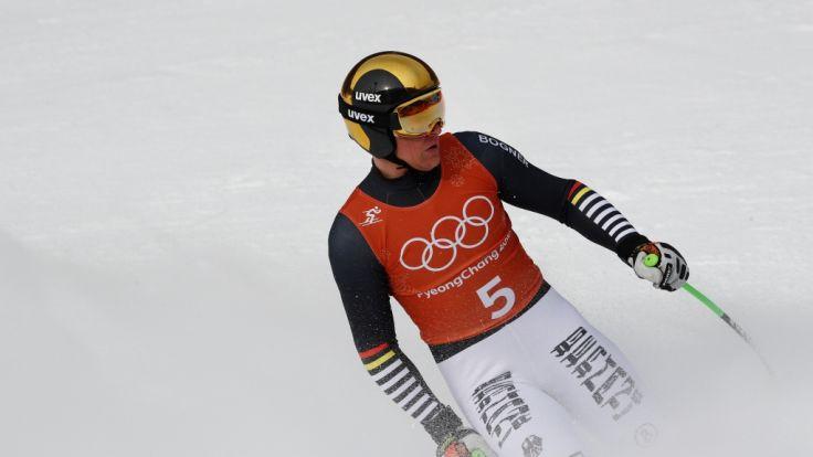 Thomas Dreßen aus Deutschland geht bei Olympia 2018 in Pyeongchang an den Start.