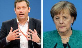 Lars Klingbeil verhöhnt Angela Merkel. (Foto)