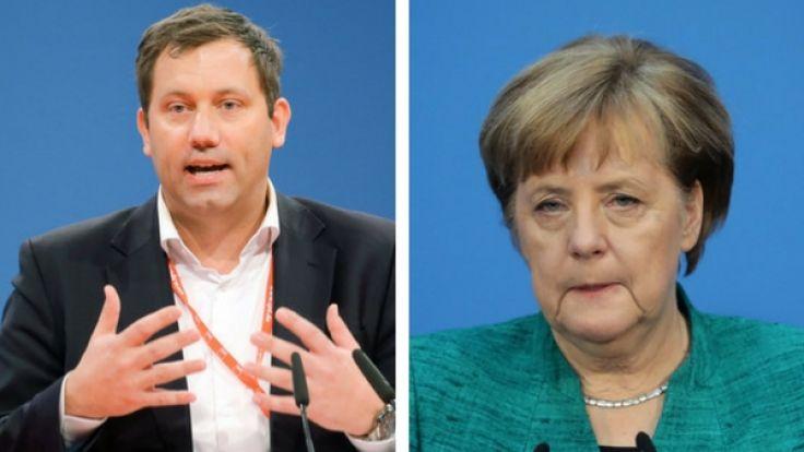 Lars Klingbeil verhöhnt Angela Merkel.