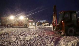 Bei einem Flugzeugabsturz nahe Moskau kamen alle Insassen ums Leben. (Foto)