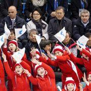 Kim Jong-Uns Cheerleader erobern die Winterspiele (Foto)