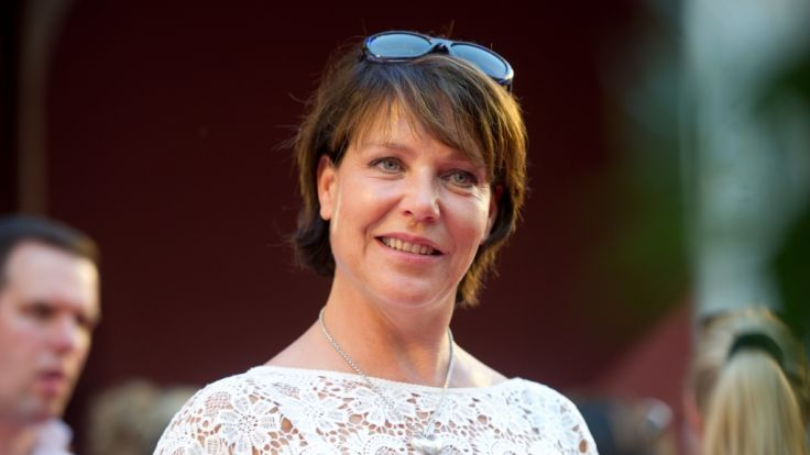 Janina Hartwig wurde 1961 in Ost-Berlin geboren. (Foto)