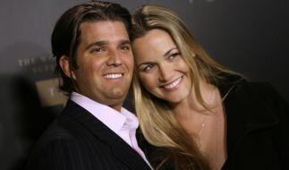 Trumps Sohn Donald Trump Jr. mit Frau Vanessa. (Foto)
