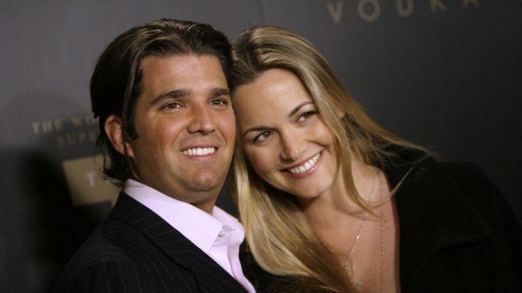Trumps Sohn Donald Trump Jr. mit Frau Vanessa.