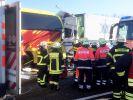 Bei einem Unfall in Hessen starben mindestens zwei Menschen. (Foto)