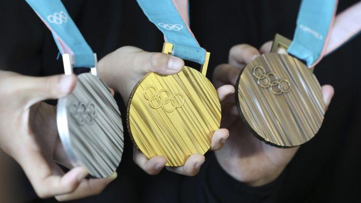 Objekte der Begierde - Die olympischen Medaillen in Pyeongchang.