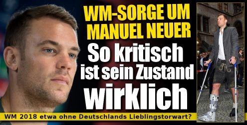 Manuel Neuer aktuell