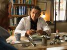 """""""Der Bergdoktor"""" Martin Gruber (Hans Sigl) holt sich Rat bei Roman Melchinger (Siegfried Rauch). (Foto)"""
