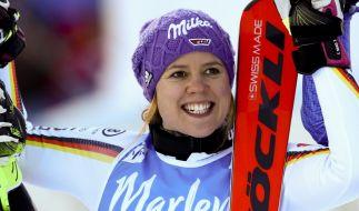 Viktoria Rebensburg hat ihr Karriere-Aus verkündet. (Foto)