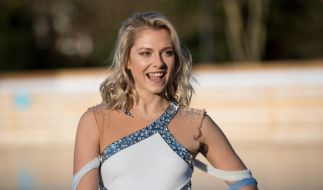 "Valentina Pahde in ihrem ""Holiday on Ice""-Outfit. (Foto)"