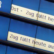 Viele Lokführer krank! HIER fallen Züge aus (Foto)