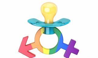Der Berliner Senat will die Themen Trans-, Inter- und Homosexualität Kindergartenkindern näherbringen (Symbolbild). (Foto)