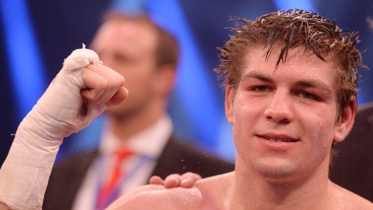 Boxen: Profiboxer Vincent Feigenbutz gewinnt gegen Liebenberg