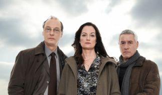 Das Ermittler-Team: Arne Brauner (Martin Brambach, l.), Jana Winter (Natalia Wörner, M.) und Matthias Hamm (Ralph Herforth, r.). (Foto)