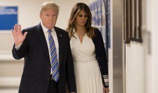 Kommt es zwischen Donald und Melania Trump zur Versöhnung? (Foto)