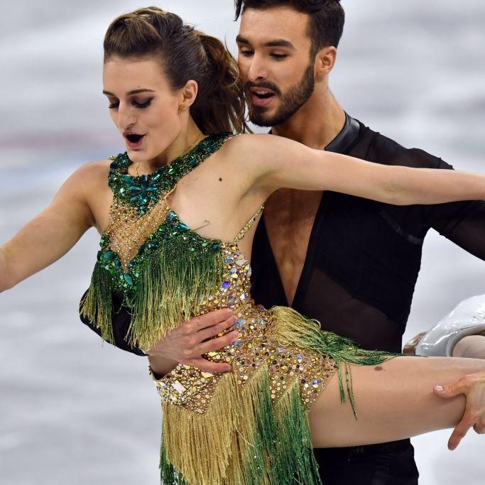 Eiskaltes Vergnügen! Schon wieder Nippel-Blitzer bei Olympia (Foto)