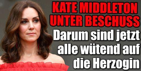 Kate Middleton unter Beschuss