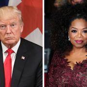 Trump wettert gegen Moderatorin Oprah Winfrey (Foto)