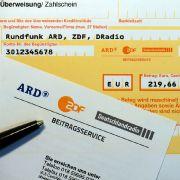 Millionen-Überschuss bei ARD und ZDF! Gebühr trotzdem nicht gesenkt (Foto)