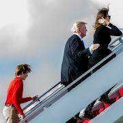 Kein Platz für Sohn Barron! Ist Trump ein Rabenvater? (Foto)