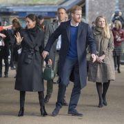 DIESE Frau weicht Prinz Harrys Verlobter nie von der Seite (Foto)