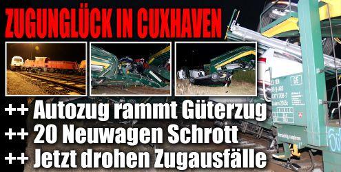 Zugunglück in Cuxhaven