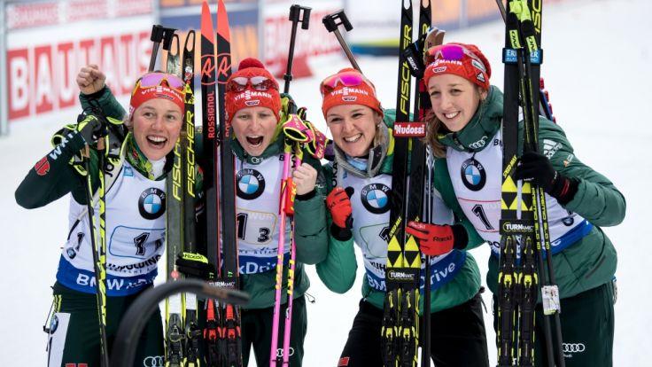 ergebnis biathlon frauen heute