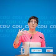 Kramp-Karrenbauer als Merkel-Nachfolgerin ungeeignet? (Foto)
