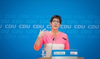 Könnte Annegret Kramp-Karrenbauer Merkels Nachfolgerin werden? Die Deutschen sind skeptisch. (Foto)