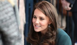 Kate Middleton ging bei einem Termin in Sunderland mit Zaungästen auf Tuchfühlung. (Foto)