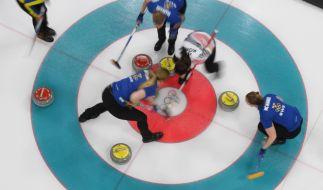 Die aktuellen Curling-Ergebnisse von Olympia 2018 erfahren Sie hier. (Foto)