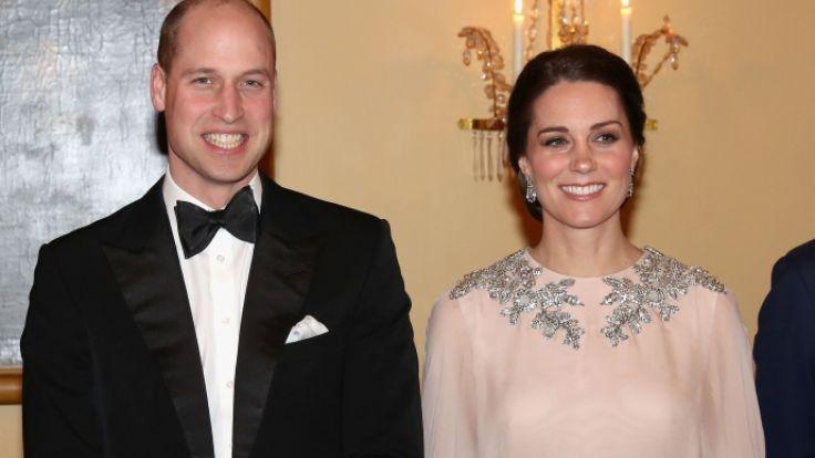 Kate Middleton und Prinz William werden zu waschechten Kino-Stars. (Foto)