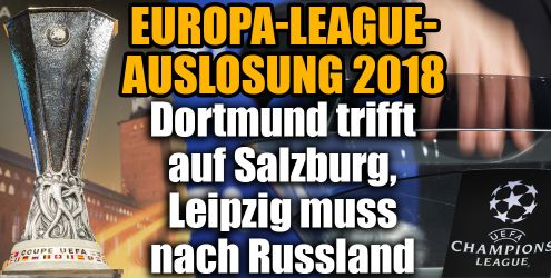 Europa League Auslosung Achtelfinale 2018