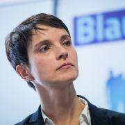 """Weiteres Strafverfahren! AfD verklagt Petry wegen """"Die Blaue Partei"""" (Foto)"""