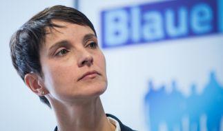"""Frauke Petry hat im Oktober 2017 """"Die blaue Partei"""" gegründet. (Foto)"""