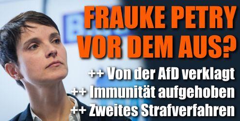 Frauke Petry vor Gericht