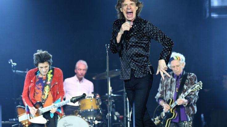 Rolling Stones auf Tour 2018: Rock-Dinos in Deutschland ... Rolling Stones Tour 2018