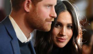 Prinz Harry und Meghan Markle heiraten im Mai 2018. (Foto)
